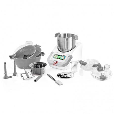 ROBOT CUISEUR MULTIFONCTION 1400W 12 VITESSES ET ECRAN TACTILE 7 POUCES CUISIOXCONNECT+ BY KITCHENCOOK